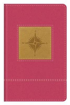 Go-Anywhere KJV Study Bible (Primrose Compass), imitation leather, Thumb-Indexed  -     Edited By: Christopher D. Hudson
