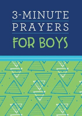 3-Minute Prayers for Boys  -     By: Joshua Mosey