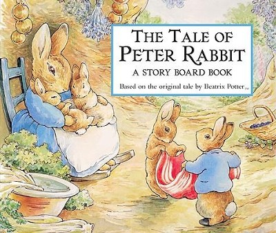 The Tale of Peter Rabbit Story Board Book  -     By: Beatrix Potter