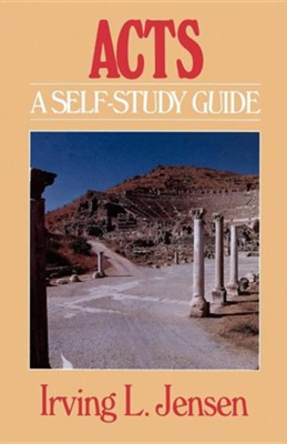 Acts: Jensen Self-Study Guide   -     By: Irving L. Jensen