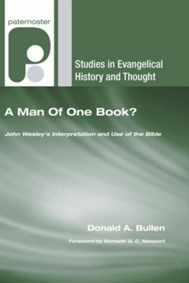 A Man of One Book?  -     By: Donald A. Bullen