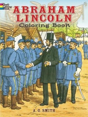 Abraham Lincoln Coloring Book  -     By: A.G. Smith