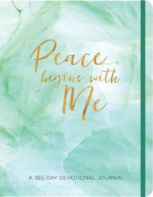 Peace Begins with Me Journal: A 365-Day Devotional Journal  -