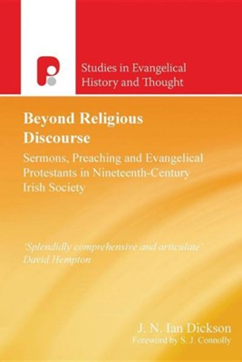 Beyond Religious Discourse  -     By: J.N. Ian Dickson