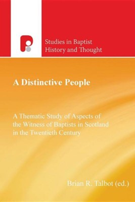 A Distinctive People  -     By: Brain R. Talbot