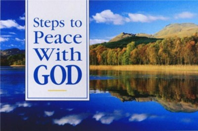 Steps to Peace with God: Scenic Version pack of 25 tracts  -     Edited By: The Billy Graham Evangelistic Association