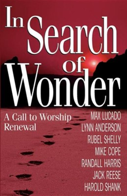In Search of Wonder: A Call to Worship Renewal   -     By: Lynn Anderson