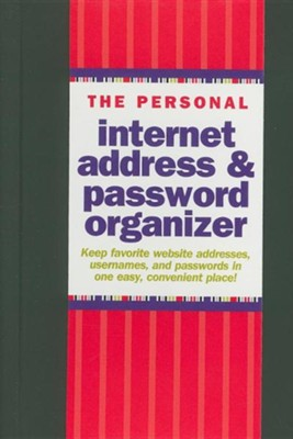 The Personal Internet Address & Password Organizer  -     By: Peter Pauper Press