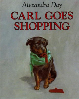 Carl Goes Shopping  -     By: Alexandra Day     Illustrated By: Alexandra Day