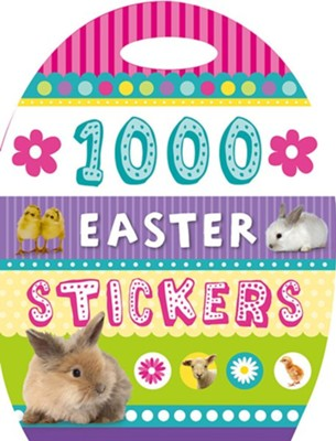 1000 Easter Stickers  -     By: Charlotte Stratford