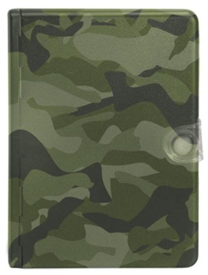Biblia Compacta Metal Camuflaje NTV  (NTV Compact Metal Camouflage Bible) - Slightly Imperfect  -