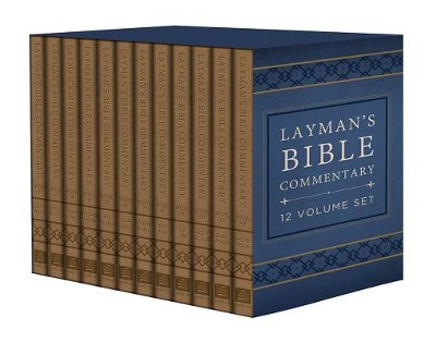 Layman's Bible Commentary Set - Deluxe Handy Size  -