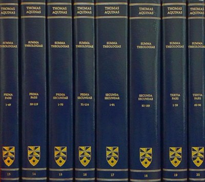 Summa Theologiae: Complete Set (Latin-English Edition)  -     Edited By: The Aquinas Institute     By: Thomas Aquinas
