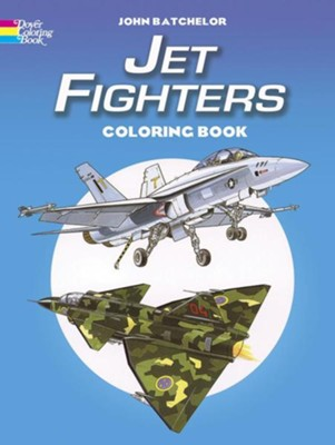 Jet Fighters - coloring book   -     By: John Batchelor