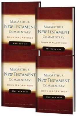 Matthew, 4 Volumes: The MacArthur New Testament Commentary Set   -     By: John MacArthur