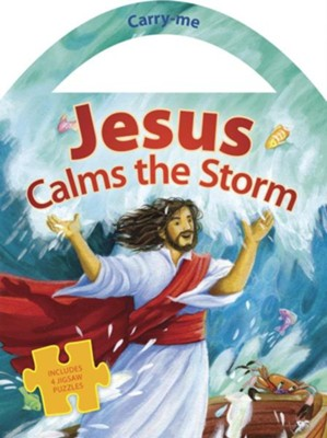 Jesus Calms the Storm  -     By: Copenhagen Publishing Company