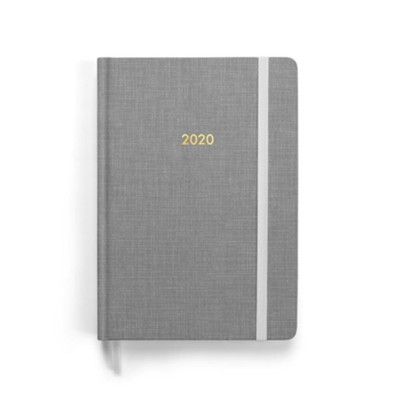 2020 Planner-Gray: A Year With Christ  -     By: Nathaniel Jude Heres, Alanna Gabrielle Malicdem