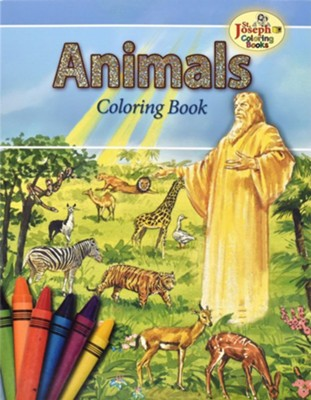 Animals of the Bible Coloring Book   -