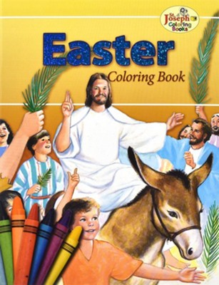 Easter Coloring Book, Pack of 10   -     By: Catholic Book Publishing Co
