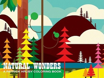 Natural Wonders: A Patrick Hruby Coloring Book  -     By: Patrick Hruby