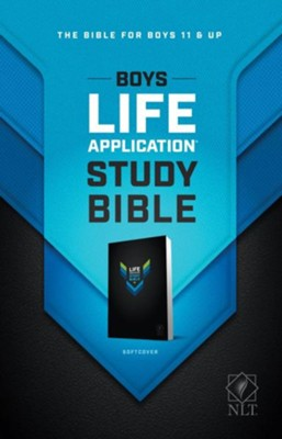 NLT Boys Life Application Study Bible, Softcover  -