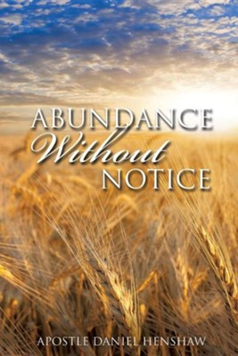 Abundance Without Notice  -     By: Daniel Henshaw