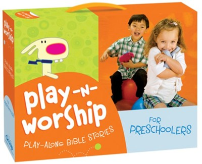 Play-n-Worship--Play-Along Bible Stories for Preschoolers  -