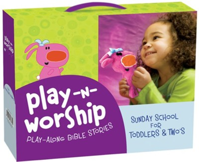 Play-n-Worship: Play-Along Stories for Toddlers and Twos  -