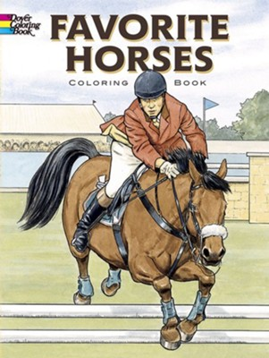 Favorite Horses: Coloring Book  -     By: John Green