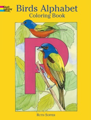 Birds Alphabet: Coloring Book  -     By: Ruth Soffer