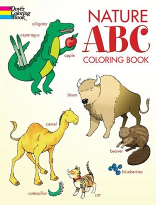 Nature ABC Coloring Book  -     By: Cathy Beylon