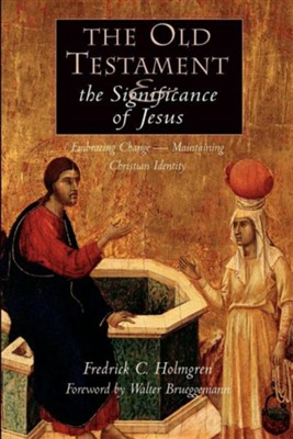The Old Testament and the Significance of Jesus   -     By: Frederick Holmgren