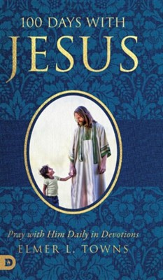 100 Days with Jesus, Cloth, Not Applicable  -     By: Elmer Towns