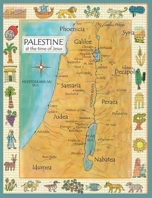 Palestine in the Time of Jesus Map  -     By: Peter Downie
