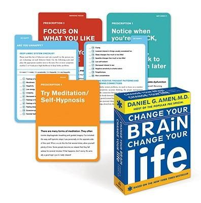 Change Your Brain, Change Your Life Flashcards  -     By: Daniel G. Amen
