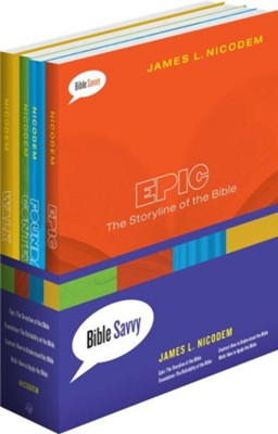 Bible Savvy: 4 Volume Set  -     By: James Nicodem