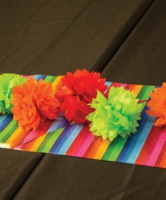 Passport to Peru VBS: Fiesta Table Runner (11 inches x 6 feet)  -