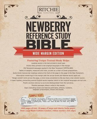 Newberry Reference Bible Wide Margin Edition  -     By: Thomas Newberry