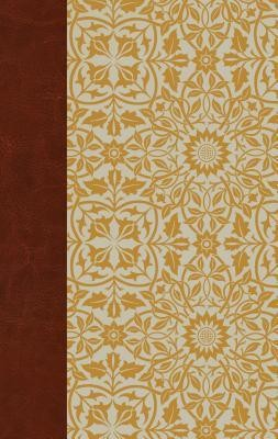 ESV Large Print Personal Size Bible, Cloth over Board, Sunflower  -