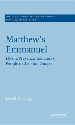Matthew's Emmanuel  -     By: David D. Kupp