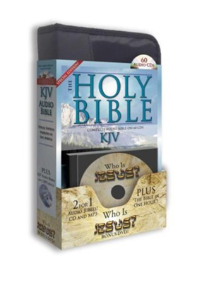 KJV Special Edition Audio Bible: Martin with FREE (2) MP3s and (1) DVD-Who is Jesus? Plus Bonus Bible in One Hour CD  -     Narrated By: Eric Martin     By: Eric Martin