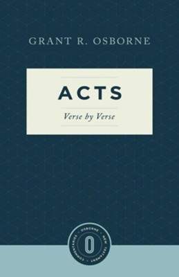 Acts Verse by Verse  -     By: Grant R. Osborne