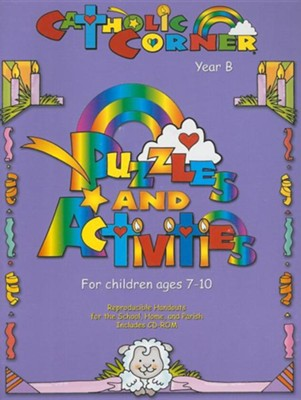 Puzzles & Activities for Children Ages 7-10: Year B [With CD]  -     By: Marcia T. Lucey