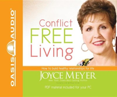 Conflict Free Living - Audiobook on CD  -     Narrated By: Sandra McCollom     By: Joyce Meyer