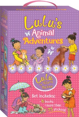 Lulu Boxed Set #1-6  -     By: Hilary McKay     Illustrated By: Priscilla Lamont