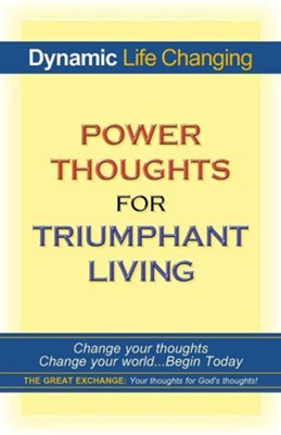 Power Thoughts for Triumphant Living, softcover   -     By: Diana M. Sykes