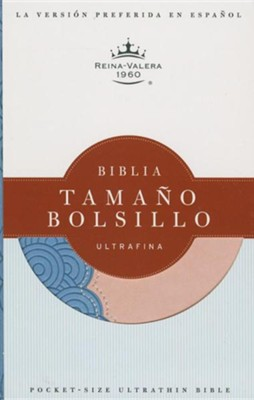 Biblia Tamano Bolsillo Ultrafina-Rvr 1960, Imitation Leather, Prussian Blue  -