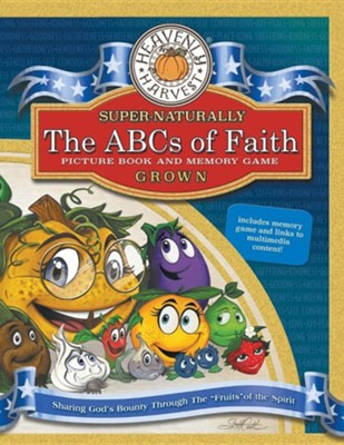The Abcs of Faith: Picture Book and Memory Game  -     By: Scott Cook