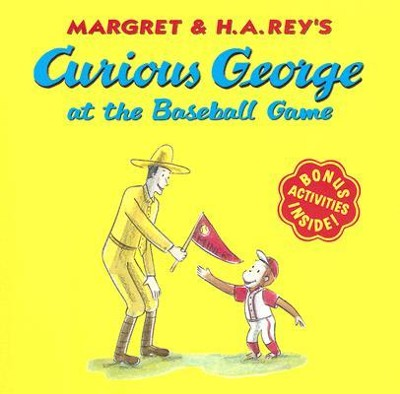 Curious George at the Baseball Game, paperback   -     By: H.A. Rey