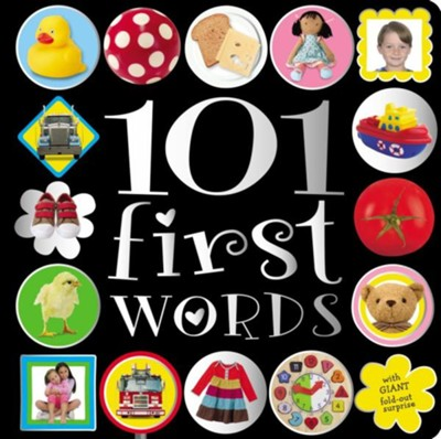 101 First Words  -     By: Jane Horne